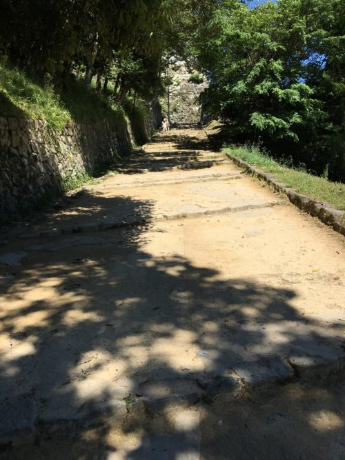 彦根城の坂