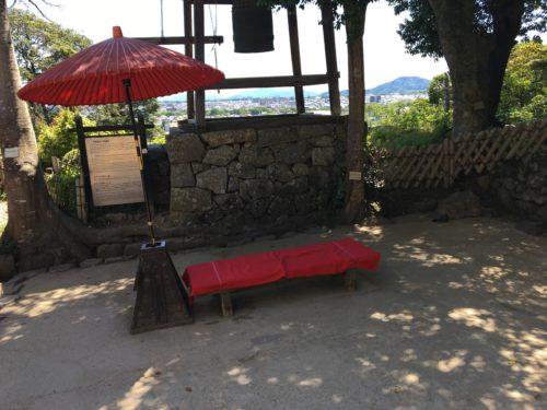 彦根城の休憩所