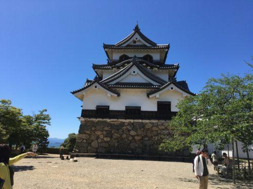 彦根城の本丸